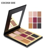 Matte Eyeshadow Palette 9 Colors Eye Shadow MakeUp Beauty Charming Eye Cosmetic COCOSH SHE Matt Eyeshadow Palette