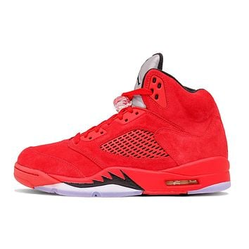 "AIR JORDAN 5 RETRO ""RED SUEDE"""