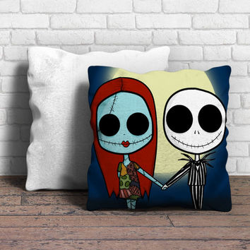 Jack And Sally Pillow | Aneend