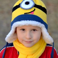 "Hat ""Minion"" for kids"
