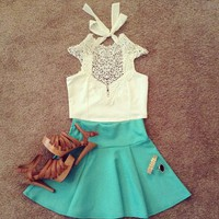 Victorian Cropped Top