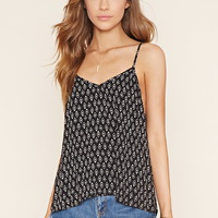 Abstract Geo Print Cami
