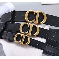 DIOR leather belt