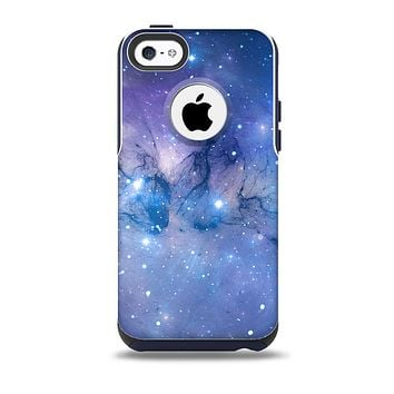 The Blue & Purple Mixed Universe Skin for the iPhone 5c OtterBox Commuter Case