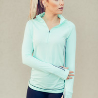 On a Run Half Zip Jacket