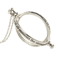 LOVEsick Love Quote Spinning Monocle Necklace