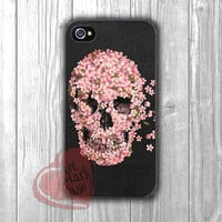 sugar skull flower-1nay for iPhone 6S case, iPhone 5s case, iPhone 6 case, iPhone 4S, Samsung S6 Edge