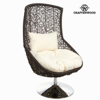 Rattan chair by Craftenwood