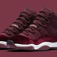 """Ready Stock"" aj11 Air Jordan 11 GS Velvet ""Heiress"""
