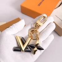 KUYOU LOUIS VUITTON M68197 color grab full steel key ring LV