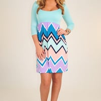 Almost A Lover Dress: Multi