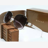 Perfect Gucci Women Fashion Sunglasses Popular Summer Style Sun Shades Eyeglasses Glasses Sunglasses &Christmas Gift Box