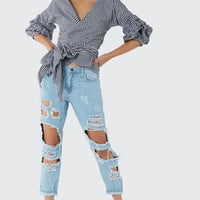 Check This Out Wrap Top