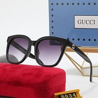 GUCCI GG Double G Polarized Sunglasses for Men and Women-2