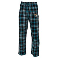 Jacksonville Jaguars - Logo Plaid Lounge Pants