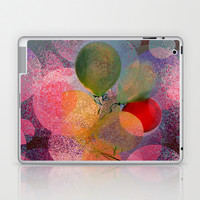 BALLOON LOVE  - Wish to be Happy Laptop & iPad Skin by Marianna Tankelevich