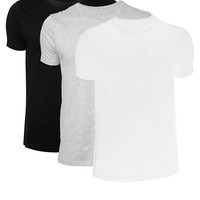 ASOS T-Shirt With Crew Neck 3 Pack SAVE 22%