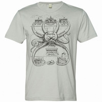 Federal Reserve Octopus Vintage Soft Graphic Tee