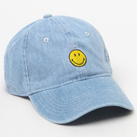BODY RAGS Smiley Denim Dad Hat at PacSun.com