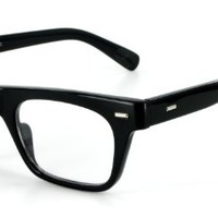 Wayfarer Clear Fashion Glasses for Youthful, Trendy Men and Women