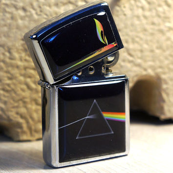 Lighter Pink Floyd Music. Chrome Finished Lighter
