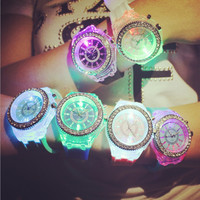 Unisex Cool Jelly Watch