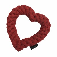 Heart Rope Dog Toy