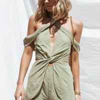 Tilly Twist Playsuit - Playsuits by Sabo Skirt