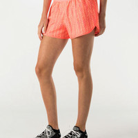 Women's Under Armour Printed Perfect Pace Running Shorts | Finish Line