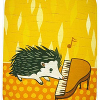Sale: Hedgehog Piano Art Print