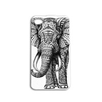 Elephant iPhone 4 or 4s, and iPhone 5 or 5s or 5c case Made in USA