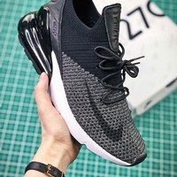 Air Max 270 Flyknit Black/Grey