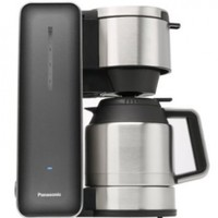 """Panasonic """"Breakfast Collection"""" NC-ZF1V Coffee Maker (Grey), Stainless Steel"""