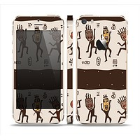 The Dancing Aztec Masked Cave-Men Skin Set for the Apple iPhone 5s