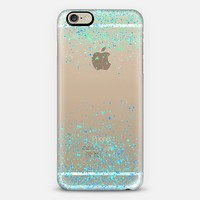 minty blue sparks iPhone 6 case by Marianna Tankelevich | Casetify