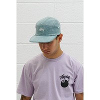Stock Washed Canvas Camp Cap in Green