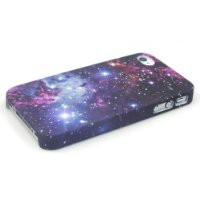 Comkes Space Galaxy Snap On Hard Case for Apple iPhone 4 4g 4s