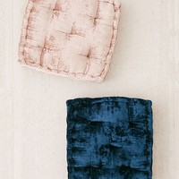 Ruthie Velvet Floor Pillow | Urban Outfitters