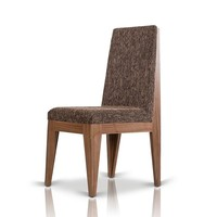 Modrest Aura - Modern Walnut Dining Chair (set of 2)