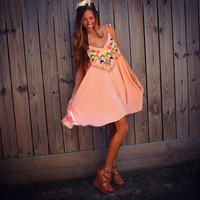 Georgia Peach Dress