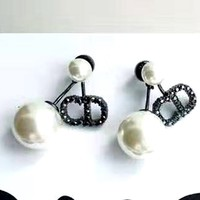 Dior new personality female earrings