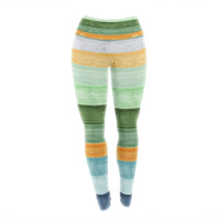 "Monika Strigel ""Beach Wood Blue"" Yoga Leggings"