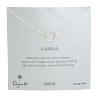 Dogeared Jewels Karma Necklace 16 inch Sterling Silver - Zappos.com Free Shipping BOTH Ways