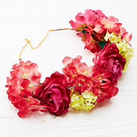 Kimchi Blue Flower Crown in Red - Urban Outfitters
