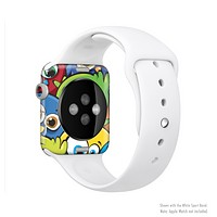 The Big-Eyed Highlighted Cartoon Birds Full-Body Skin Set for the Apple Watch