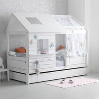 SILVERSPARKLE LOW HUT CHILDREN'S BED