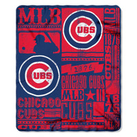Chicago Cubs 50x60 Fleece Blanket - Strength Design
