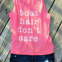 Boat Hair Don't Care Tank Top