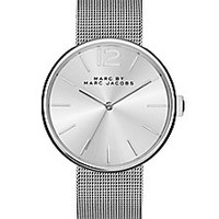 Marc by Marc Jacobs - Peggy Stainless Steel Mesh Bracelet Watch - Saks Fifth Avenue Mobile