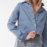 UO Cropped Utility Jacket | Urban Outfitters